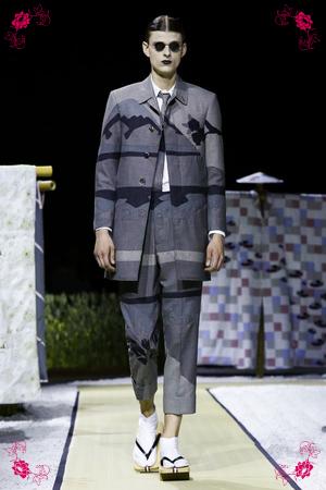 Thom Browne Menswear Spring Summer 2016 in Paris