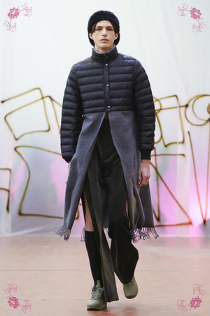 Andrea Crews, Menswear Collection Fall Winter 2016 in Paris