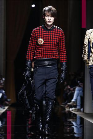 Balmain Fall Winter 2016 Fashion Show in Paris.