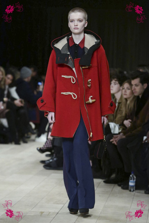 Burberry Design Fashion Show, Menswear Collection Fall Winter 2016 in London