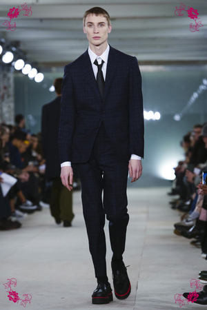 Casely-Hayford Fashion Show, Menswear Collection Fall Winter 2016 in London