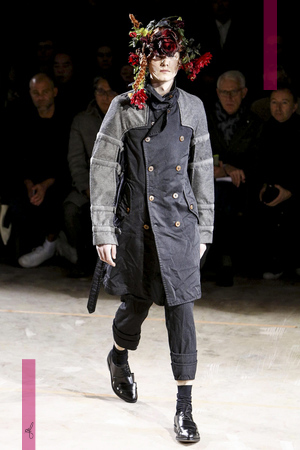 Comme des Garcons Show Menswear Fall Winter 2016 Collection in Paris