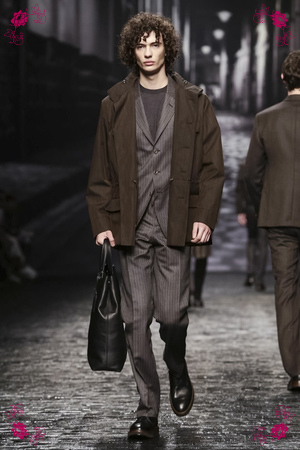Corneliani Menswear Fall Winter 2016 Collection in Milan