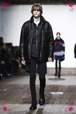Diesel Black Gold Fashion Show, Menswear Collection Fall Winter 2016 in Milan