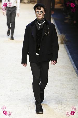 Dolce & Gabbana Fashion Show, Menswear Collection Fall Winter 2016 in Milan