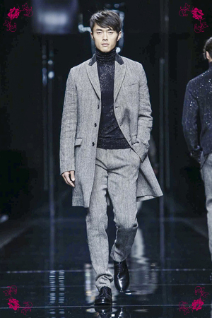 Ermanno Scervino Fashion Show, Menswear Collection Fall Winter 2016 in Milan