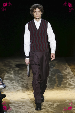 Ermenegildo Zegna Menswear Fall Winter 2016 Collection in Milan
