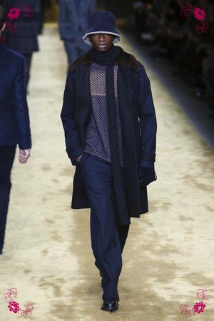 Fendi Fashion Show, Menswear Collection Fall Winter 2016 in Milan