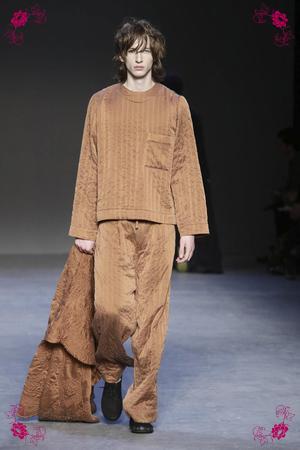 Graig Green Design Fashion Show, Menswear Collection Fall Winter 2016 in London