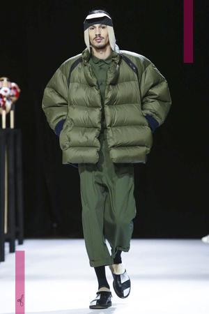 Henrik Vibskov Fashion Show, Menswear Collection Fall Winter 2016 in Paris