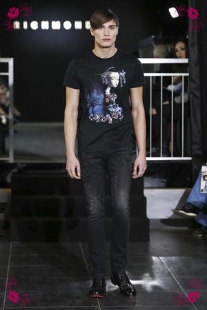 John Richmond Fashion Show, Menswear Collection Fall Winter 2016 in Milan