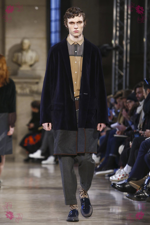 Kolor Fashion Show Menswear Fall Winter 2016 Collection in Paris