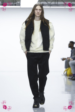 Lou Dalton Design Fashion Show, Menswear Collection Fall Winter 2016 in London