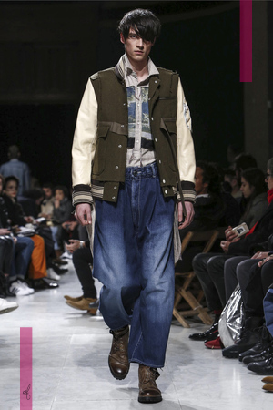 Mihara Yasuhiro Show Menswear Fall Winter 2016 Collection in Paris