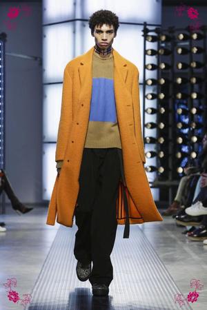 MSGM Fashion Show, Menswear Collection Fall Winter 2016 in Milan