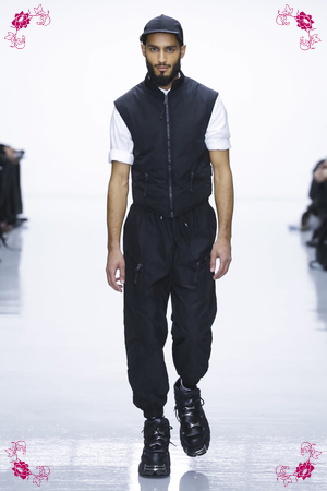 Nasir Mazhar Fashion Show, Menswear Collection Fall Winter 2016 in London