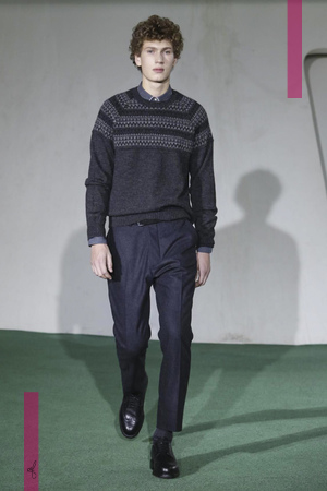 Officine Generale Menswear Fall Winter 2016 Collection in Paris