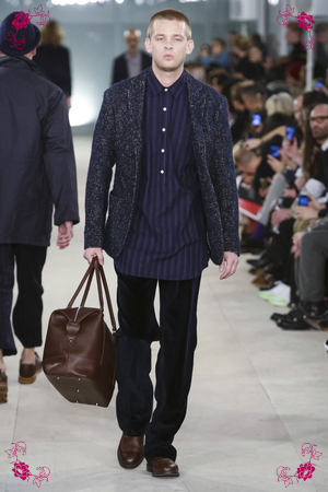 Oliver Spencer Fashion Show, Menswear Collection Fall Winter 2016 in London