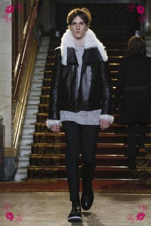 Pringle of Scotland Fashion Show, Menswear Collection Fall Winter 2016 in London