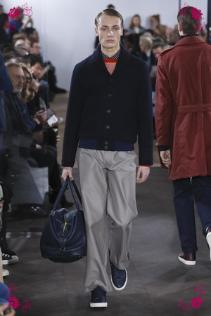 Richard James Fashion Show, Menswear Collection Fall Winter 2016 in London