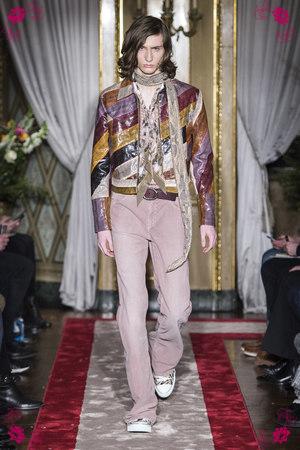 Roberto Cavalli Fall Winter 2016 Collection in Milan