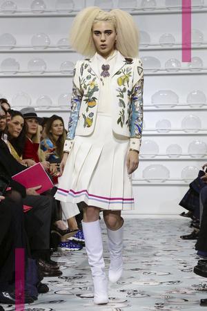 Schiaparelli, Fashion Show, Menswear Collection Fall Winter 2016 in Paris