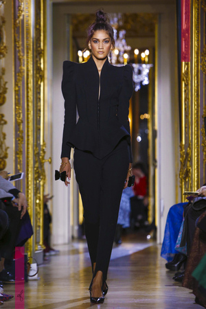 Ulyana Sergeenko, Fashion Show, Couture Collection Spring Summer 2016 in Paris