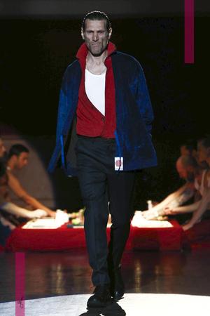 Umit Benan, Fashion Show, Menswear Collection Fall Winter 2016 in Paris