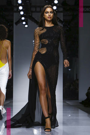 Versace Atelier, Fashion Show, Couture Collection Spring Summer 2016 in Paris