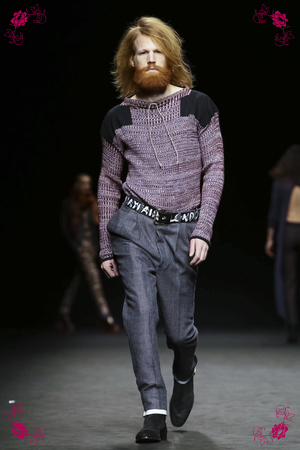Vivienne Westwood Fashion Show, Menswear Collection Fall Winter 2016 in Milan