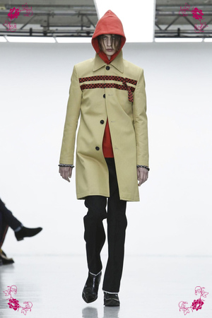 Xander Zhou Design Fashion Show, Menswear Collection Fall Winter 2016 in London