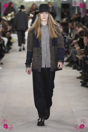 YMC Design Fashion Show, Menswear Collection Fall Winter 2016 in London