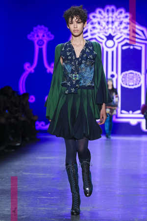 Anna Sui Fashion Show Ready To Wear Collection Fall Winter 2016 in New York