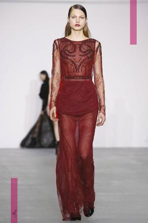 Antonio Berardi Fashion Show, Ready To Wear Collection Fall Winter 2016 in London