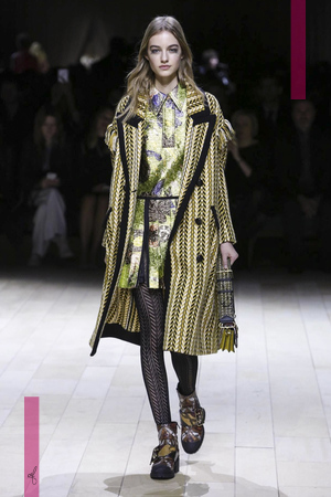 Burberry Fashion Show, Ready To Wear Collection Fall Winter 2016 in London