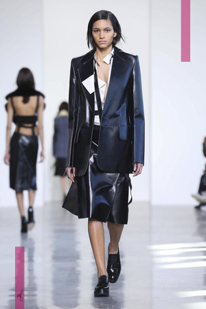 Calvin Klein Collection Fashion Show, Ready To Wear  Collection Fall Winter 2016 in New York