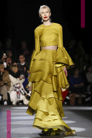 Christian Siriano Fashion Show, Ready to Wear Collection Fall Winter 2016 in New York