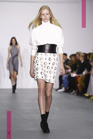 David Koma Design Fashion Show, Ready To Wear Collection Fall Winter 2016 in London