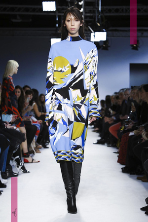 Emilio Pucci Fashion Show, Ready To Wear Collection Fall Winter 2016 in Milan