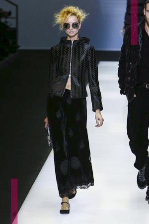 Giorgio Armani, Fashion Show, Ready to Wear Collection Fall Winter 2016 in Milan