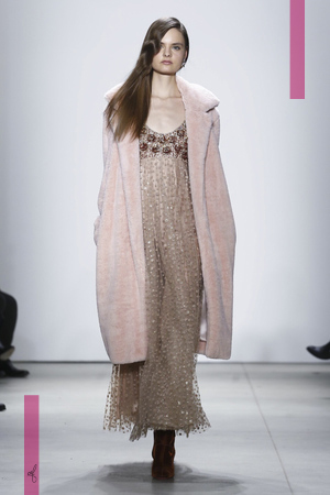 Jenny Packham Fashion Show, Ready To Wear  Collection Fall Winter 2016 in New York