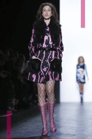 Jeremy Scott Fashion Show, Ready To Wear Collection Fall Winter 2016 in New York
