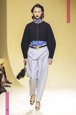 Marni Fashion Show, Ready To Wear Collection Fall Winter 2016 in Milan