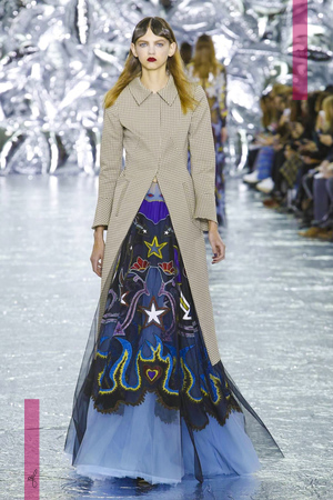 Mary Katrantzou Fashion Show, Ready To Wear Collection Fall Winter 2016 in London