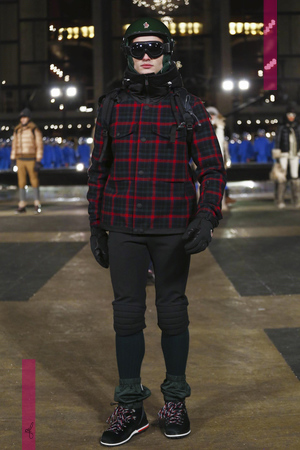 Moncler Grenoble Fashion Show, Ready To Wear  Collection Fall Winter 2016 in New York
