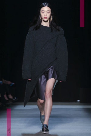 Narciso Rodriguez Fashion Show, Ready To Wear Fall Winter 2016 Collection in New York