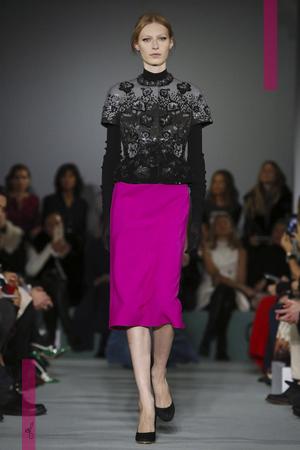 Oscar de La Renta Fashion Show, Ready To Wear  Collection Fall Winter 2016 in New York