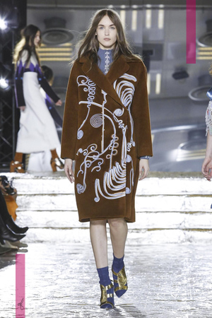 Peter Pilotto Fashion Show, Ready To Wear Collection Fall Winter 2016 in London