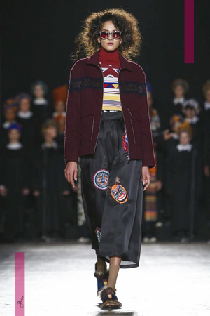 Stella Jean Fashion Show, Ready To Wear  Collection Fall Winter 2016 in Milan