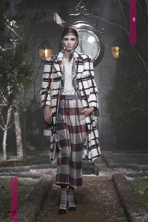 Thom Browne Fashion Show, Ready to Wear Collection Fall Winter 2016 New York Fashion Week NYTCREDIT: Gio Staiano / NOWFASHION